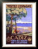 Cadiz Spain Poster