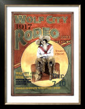 Wolf City Rodeo, 1917 Art by Sharon Hunt