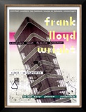 Frank Lloyd Wright, Dutch Exhibit Posters