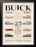 Twenty-Five Years of Buick Automobiles Posters