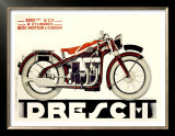 Dresch 1935 500CC Motorcycle Posters