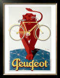 Peugeot Lion Bicycle Posters