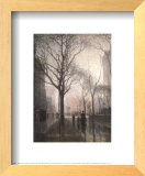 Plaza After the Rain Prints by Paul Cornoyer