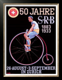 S.R.B. Bicycle Federation Poster by Emil Huber