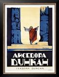 Isadora Duncan Print by Alexander Alexeieff