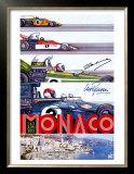 Monaco Grand Prix F1 Race, c.1973 Art