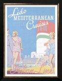 Lido Med Cruises Posters