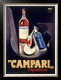 Campari Aperitif Liquer Posters
