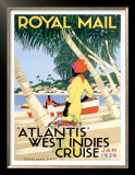 Royal Mail, West Indies Prints