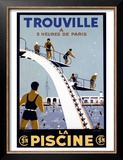 Trouville Print by Molusson