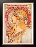 Savonnerie de Bagnolet Art by Alphonse Mucha