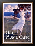 Golf, Monte Carlo Posters