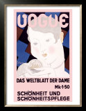 Vouge Posters by Georges Lepape