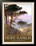 Hope Ranch Beach, Santa Barbara Posters