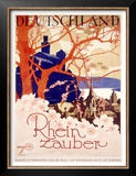 Rhine River Magic Tour Print