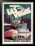 Union Pacific, Stopover in Las Vegas Prints
