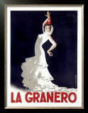 La Granero Flamenco Dance Prints by Paul Colin