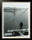 San Francisco, Golden Gate Bridge Construction Prints