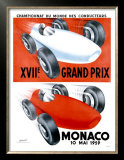 Monaco, 1959 Posters by  Leuenberger