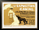 36th Exposition Canine de Briard Poster by Edouard Doigneau