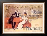 Grandes Salones y Academia de Billar Posters by Antoni Utrillo