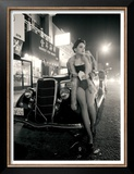 Pin-Up Girl: Chinatown Prints by David Perry