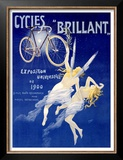 Cycles Brillant Prints by Henri Gray