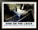 Dine on the Liner Posters by Alexander Alexeieff