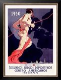 Segundos Juegos Deportivos, Habana Posters by M. Vega