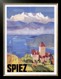 Swiss Spiez Prints
