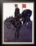 Bayerische Reiter Prints by Ludwig Hohlwein