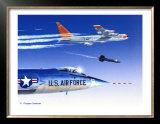 X-15 Launch Art by Douglas Castleman