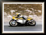 Roberts Yamaha Laguna Seca GP Poster by Jerry Smith