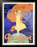 Peugeot Bicycle, Paris Prints