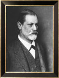 Portrait of Sigmund Freud circa 1900 Poster