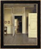 A Woman in an Interior, Strandgade 30, 1901 Kunstdrucke von Vilhelm Hammershoi