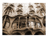 Antoni Gaudi, Casa Batllo, Barcelona, Spain Photographic Print by Bel Phos 