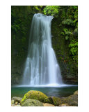 Waterfall Azores Islands Photographic Print by Gaspar Avila