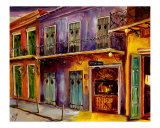 New Orleans Preservation Hall Giclee Print by Diane Millsap