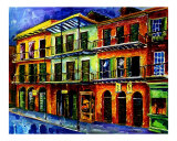 Nawlins Blue Night Giclee Print by Diane Millsap