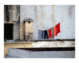 Rooftop Laundry Photographic Print by Vivienne Leibowich