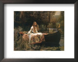 The Lady of Shalott, 1888 Prints by John William Waterhouse