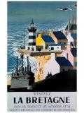 La Bretagne Giclée-tryk af  Jacquelin