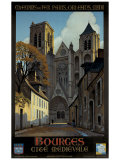 Bourges Giclee Print by Constant Leon Duval