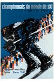 Chamonix World Championships Giclee Print by  Constantin
