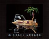 Seul au paradis Affiches par Michael Godard