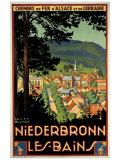 Niederbronn Giclee Print by Lucien Blumer