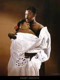Ebony Embrace Prints by Edward Clay Wright