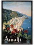 Amalfi Giclée-Druck
