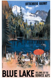 Blue Lake Giclee Print